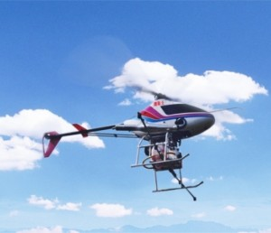 广州天海翔无人直升机01型
