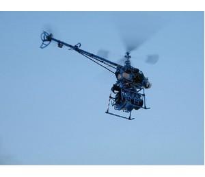 260汽油动力单旋翼直升机