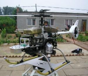 520级锂电动力共轴双桨直升机