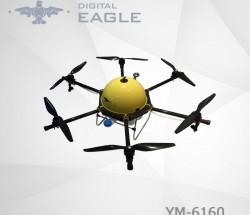 数字鹰YM-6160植保无人机载重10公斤智能高效