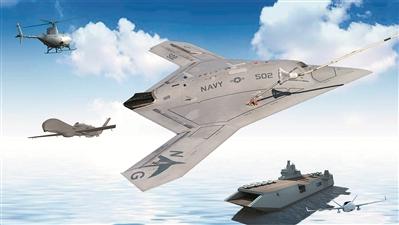 """蓄势待发的海上新""""鹰巢"""" 无人机航母发展前瞻"""