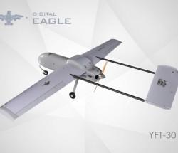 数字鹰YFT-30固定翼无人机续航力3小时